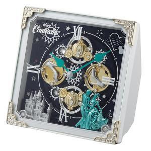 10倍ポイント/リズムディズニーキャラクターからくり置き時計シンデレラ4RH784MC03|syohbido-store