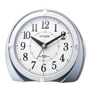 シチズン電波目覚まし時計ネムリーナマロンF4RL431N04青メタリック|syohbido-store