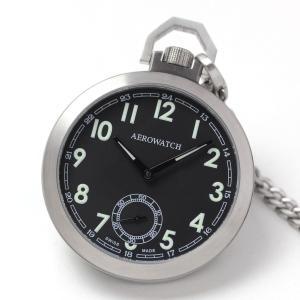 10倍ポイント/アエロ懐中時計手巻き50818AA01|syohbido-store