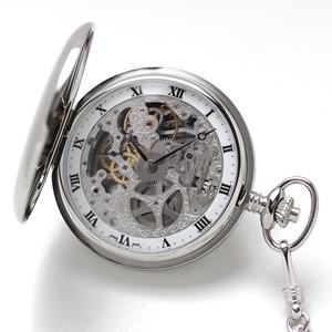 10倍ポイント/アエロ懐中時計スケルトン57819AA01|syohbido-store