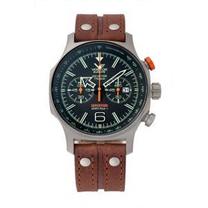 10倍ポイント/ボストーク ヨーロッパ エクスペディション North Pole 1/クロノグラフクォーツ/6S21-595H299 腕時計[正規輸入品]|syohbido-store