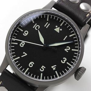10倍ポイント/ラコ(Laco) オリジナルパイロットウォッチ Laco01系 手巻き式 メミンゲン 861746 腕時計[正規輸入品]|syohbido-store