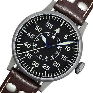 10倍ポイント/ラコ(Laco) オリジナルパイロットウォッチ Laco24系 自動巻き フリードリヒスハーフェン 861753 腕時計[正規輸入品]|syohbido-store
