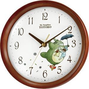 10倍ポイント/リズムとなりのトトロM27掛時計8MGA27RH06|syohbido-store