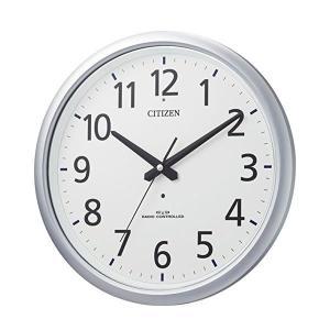 10倍ポイント/あすつく/CITIZENシチズン防湿・防塵電波掛け時計スペイシーアクア493【8MY493-019】|syohbido-store
