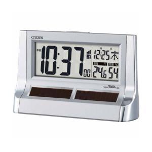 10倍ポイント/シチズンデジタル電波置き時計パルデジットソーラーR1288RZ128019 syohbido-store