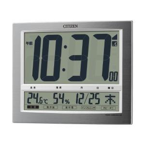 10倍ポイント/シチズンデジタル電波掛け置き兼用時計パルデジットワイド1408RZ140019|syohbido-store