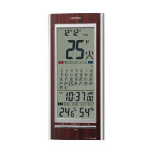10倍ポイント/シチズンデジタル電波掛け置き兼用時計パルデジットカレンダー1428RZ142023|syohbido-store