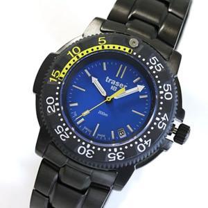 10倍ポイント/ミリタリーウォッチ/トレーサー/腕時計/メンズ/H3/ノーティック/ダイバーズ/P6504.33C.6E.03[正規輸入品]|syohbido-store