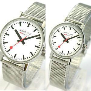 10倍ポイント/ペアウォッチ(腕時計)/モンディーン(MONDAINE)A658.30300.11SBVA658.30301.11SBV[正規輸入品] syohbido-store