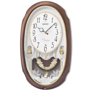 10倍ポイント/SEIKO セイコー 電波アミューズ掛け時計 ウェーブシンフォニー 【AM260A】|syohbido-store