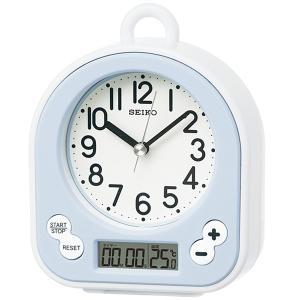 10倍ポイント/セイコー生活防水仕様キッチン&バスクロック掛け置き兼用時計BZ358L薄青 syohbido-store
