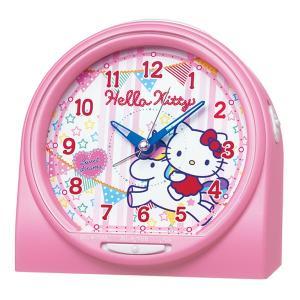 10倍ポイント/セイコーキャラクター目覚まし時計ハローキティCQ134P|syohbido-store
