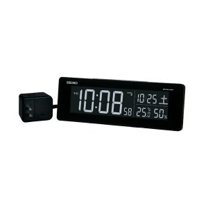 10倍ポイント/セイコーデジタル電波クロックDL205K|syohbido-store