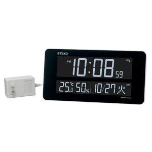 10倍ポイント/セイコーデジタル電波掛け置き兼用時計シリーズC3DL208W|syohbido-store
