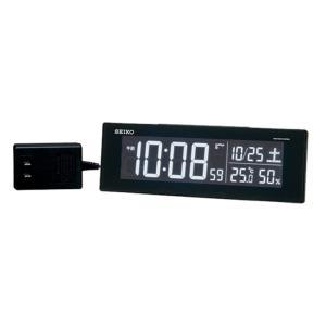 10倍ポイント/SEIKO(セイコー) デジタル電波クロック シリーズC3  DL305K  黒 syohbido-store