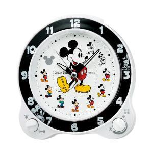 セイコーディズニーキャラクター目覚まし時計ミッキーマウスFD461W|syohbido-store
