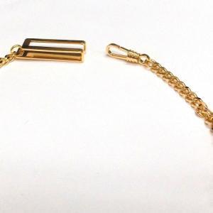 あすつく/懐中時計用チェーン8120G-フックゴールドカラー syohbido-store