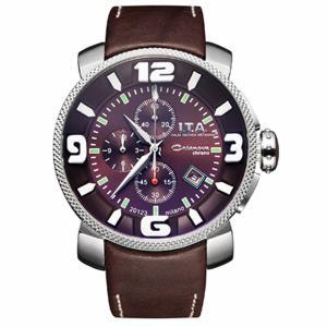 10倍ポイント/I.T.A.(アイティーエー)/カサノバクロノ日本限定モデル/腕時計/12.70.19ブラウン[正規輸入品]|syohbido-store