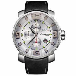 10倍ポイント/I.T.A.(アイティーエー)/カサノバクロノ日本限定モデル/腕時計/12.70.21ホワイトシルバー[正規輸入品]|syohbido-store