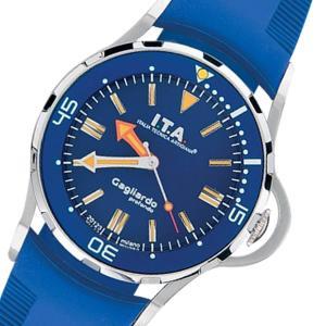 10倍ポイント/腕時計  イタリア  メンズウォッチ I.T.A. アイティーエー ガリアルド プロフォンド クォーツ  240104  正規輸入品|syohbido-store