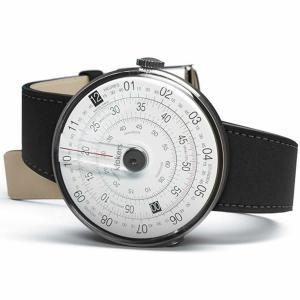 10倍ポイント/klokers(クロッカーズ)KLOK-01-D2 腕時計とklokers(クロッカーズ)腕時計用ベルト マットブラックMC2セット[正規輸入品] syohbido-store