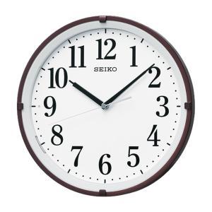 10倍ポイント/SEIKO(セイコー)夜光 電波掛け時計  KX205B  茶メタリック|syohbido-store