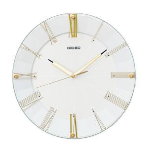 10倍ポイント/SEIKO(セイコー)スタンダード 電波掛け時計  KX214H  ゴールド syohbido-store