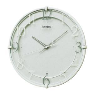 10倍ポイント/SEIKO(セイコー)スタンダード 電波掛け時計  KX215N  薄緑|syohbido-store