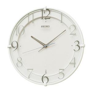 10倍ポイント/SEIKO(セイコー)スタンダード 電波掛け時計  KX215W  白|syohbido-store