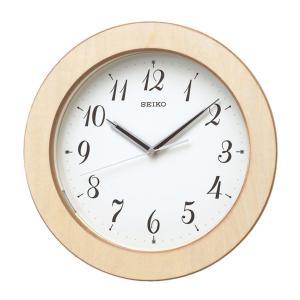 10倍ポイント/SEIKO(セイコー)木枠 夜光 電波掛け時計  KX216A|syohbido-store