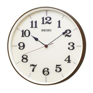 10倍ポイント/SEIKO(セイコー)スタンダード 電波掛け時計  KX221B  濃茶|syohbido-store