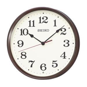 10倍ポイント/SEIKO(セイコー)スタンダード 電波掛け時計  KX223B  茶メタリック|syohbido-store