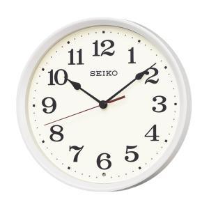 10倍ポイント/SEIKO(セイコー)スタンダード 電波掛け時計  KX223W  白パール|syohbido-store