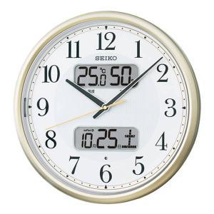 10倍ポイント/セイコー夜光電波掛け時計KX384S|syohbido-store