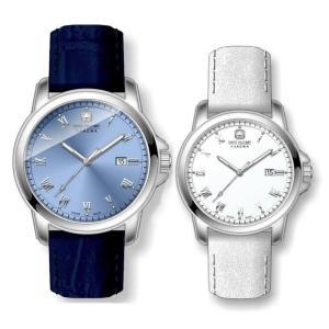10倍ポイント/スイスミリタリー腕時計ローマン(Roman)ペアウォッチML409-ML410[正規輸入品]|syohbido-store