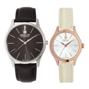 10倍ポイント/スイスミリタリー腕時計PRIMO(プリモ)ペアウォッチML411-ML413[正規輸入品] syohbido-store