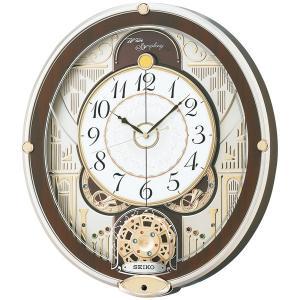10倍ポイント/SEIKO セイコー 電波 からくり 掛け時計 RE577B|syohbido-store