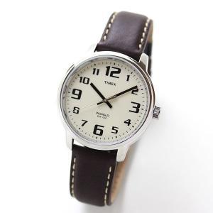 10倍ポイント/あすつく/タイメックス腕時計メンズ/ビッグイージーリーダー/ブラウンレザー/T28201[正規輸入品]|syohbido-store