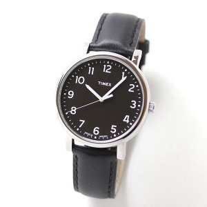 10倍ポイント/あすつく/TIMEXタイメックス腕時計メンズ/モダンイージーリーダー/ブラックダイアル/T2N339[正規輸入品]|syohbido-store