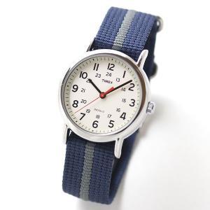 10倍ポイント/あすつく/タイメックス腕時計メンズ/ウィークエンダーセントラルパーククリーム×ネイビー/グレー/T2N654[正規輸入品]|syohbido-store