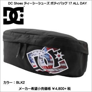 DC SHOES ボディバッグ 17 ALL DAY 5230J703 BLK2|syokandake