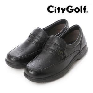マドラス シティー ゴルフ GF902 メンズ ビジネスシューズ ブラック|syokandake