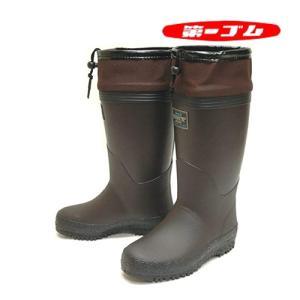 北海道 第一ゴム 長靴 ドライマスターK75 ブラウン ゴールドスパイク 防寒 防滑 防寒長靴 日本...