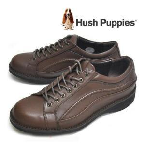 ハッシュパピー Hush Puppies M5785 メンズ カジュアルシューズ ブラウン|syokandake