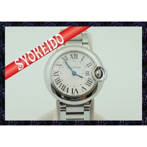カルティエ(CARTIER)/腕時計/レディース/バロンブルーSM/クォーツ/ステンレススチール/W69010Z4/中古美品