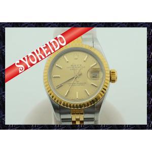 ロレックス(ROLEX)/腕時計/レディース/デイトジャスト/69173/SS×YG/中古