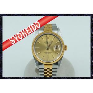 ロレックス(ROLEX)/腕時計/メンズ/デイトジャスト/Ref16233/L番台/K18YG×SS...
