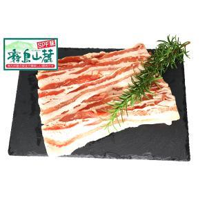 鹿児島県産 霧島山麓豚 豚バラ 1kg 銘柄豚  syokuniku