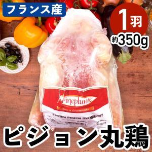 フランス産 ピジョン 丸鶏 約350g 鳩 ホール 冷凍品 業務用 外国産 ジビエ|syokuniku